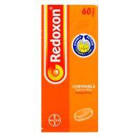 Bayer Redoxon Chewable Orange Flavour Double Action Vitamin C + Zinc - 60 Tablets