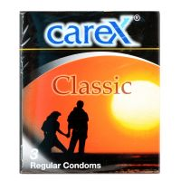 Carex Classic  - 3 Regular Condoms