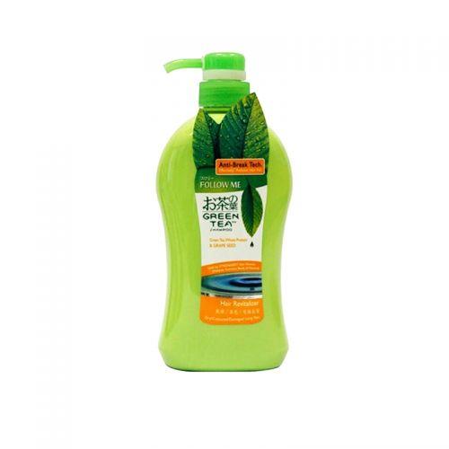 Follow Me Green Tea Hair Revitalizer Shampoo - 750ml