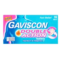 Gaviscon Double Action Mint Tablet - 16 Tablets