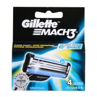 Gillette Mach3 - 4 Cartridges