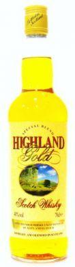 Highland Gold Scotch Whisky - 70 cl (40% vol)