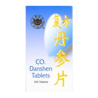 Jin Pai Trademark Co. Danshen Tablets - 100 Tablets