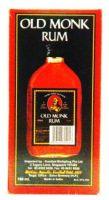 Old Monk Rum - 180 ml (37% v/v)