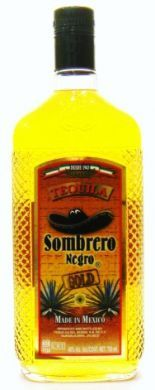 Tequila Gold Sombrero Negro - 750 ml (40% alc vol)