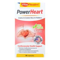 VitaRealm PowerHeart - 80 Capsules